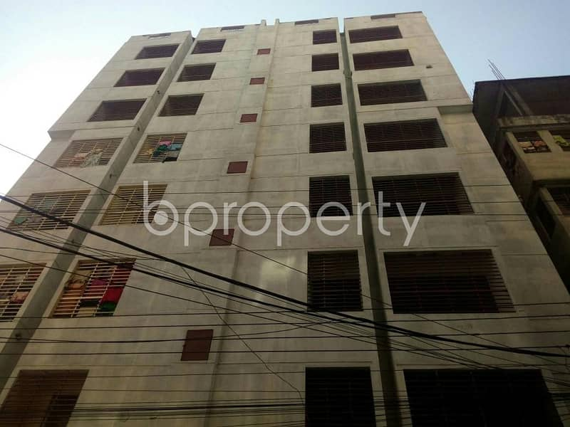 1250 SQ Ft apartment for sale is all set for you to settle in Lal Khan Bazaar close to Chatogram Police Institution