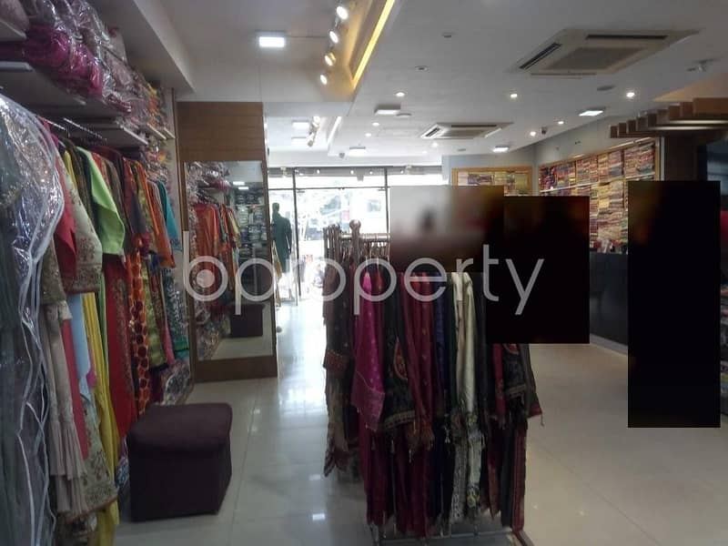 1661 Sq. ft Shop For Rent In Banani Close To NRBC Bank Limited.