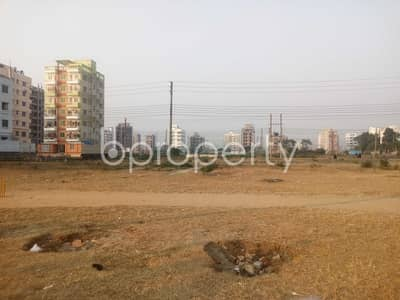 Plot for Sale in Aftab Nagar, Dhaka - At Aftabnagar A Flat Is Available For Sale