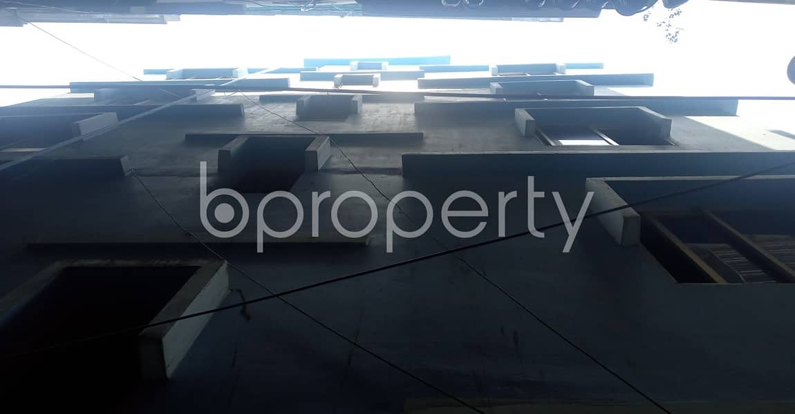 2 Bedroom, 1 Bathroom Apartment With A View Is Up For Rent At 40 No. North Patenga Ward .