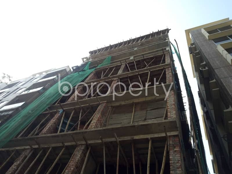 A well-constructed 2200 SQ FT apartment is up for sale in Mirpur DOHS
