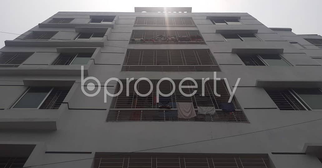 Modern 1400 Sq Ft Flat Is Up For Sale In Uttara Sector 5.