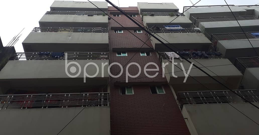950 Square Feet Medium Size Residential Apartment For Rent At Proshanti R/A.
