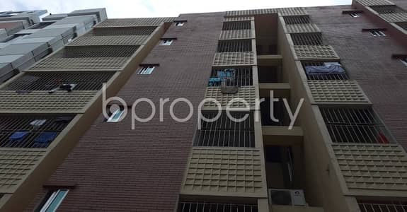 3 Bedroom Apartment for Rent in 10 No. North Kattali Ward, Chattogram - Well-constructed 1200 Sq Ft Flat Is Ready For Rent At Proshanti R/a