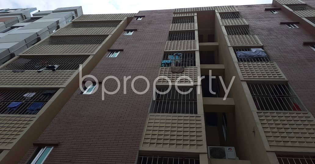 Well-constructed 1200 Sq Ft Flat Is Ready For Rent At Proshanti R/a