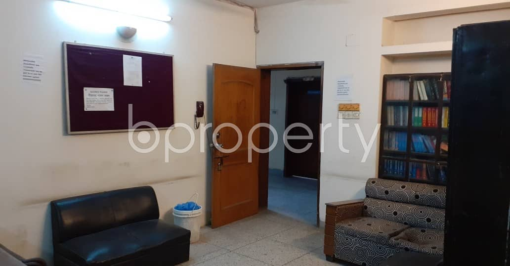 This 1400 Sq Ft Well Defined Flat Is Now Vacant To Rent In Dhanmondi