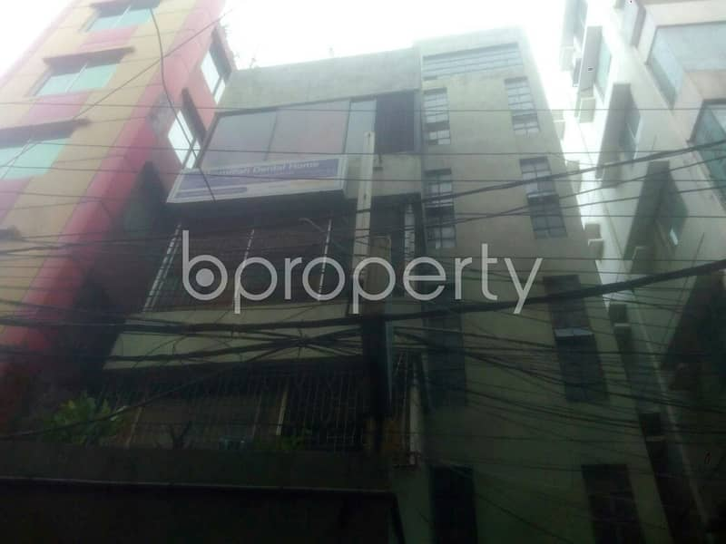 Amazing 950 Square Feet Commercial Flat Is Up For Rent In Kalabagan