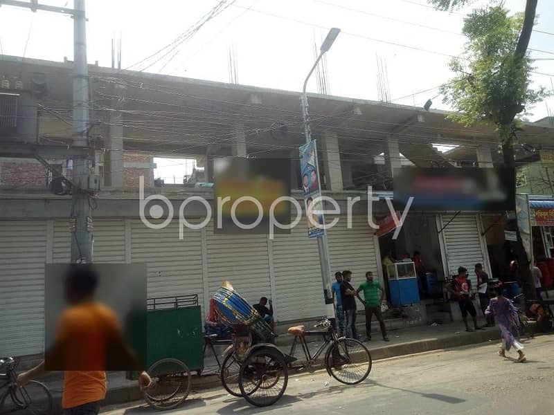 200 Sq Ft Commercial Shop Space Is Up For Rent In Mirpur