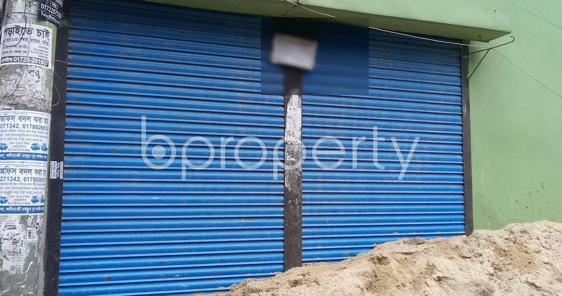 100 Sq Ft Shop Is Ready To Rent At Mirpur
