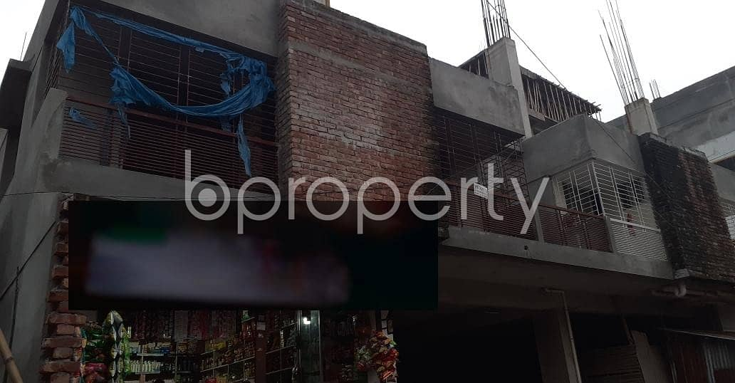 Properly-constructed 1665 SQ FT flat is now offering to you in Dakshin Khan for sale