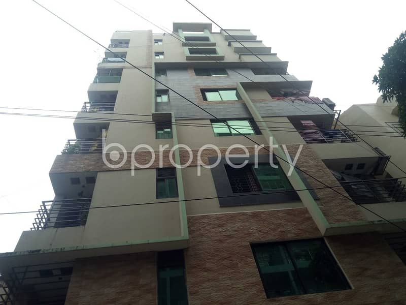 This 1500 Sq. Ft. Nice Flat Is Up For Rent At Sugandha Residential Area .