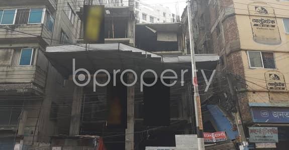 বিক্রয়ের জন্য এর ফ্লোর - মালিবাগ, ঢাকা - In Malibagh, You'll Find This 1,350 Sq Ft Lucrative And Proper Business Space For Sale Near Malibagh Bazar