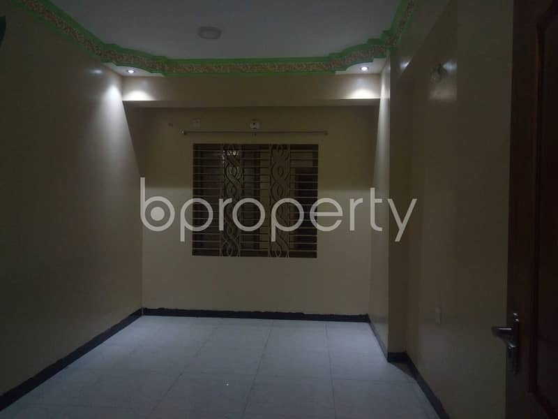 Affordable and nice flat is up for rent in Panchlaish which is 1400 SQ FT