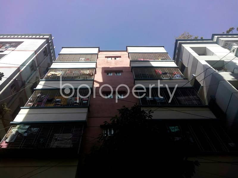 A Standard Flat Is Available In Badda For Rent Near Dutch Bangla Bank Booth