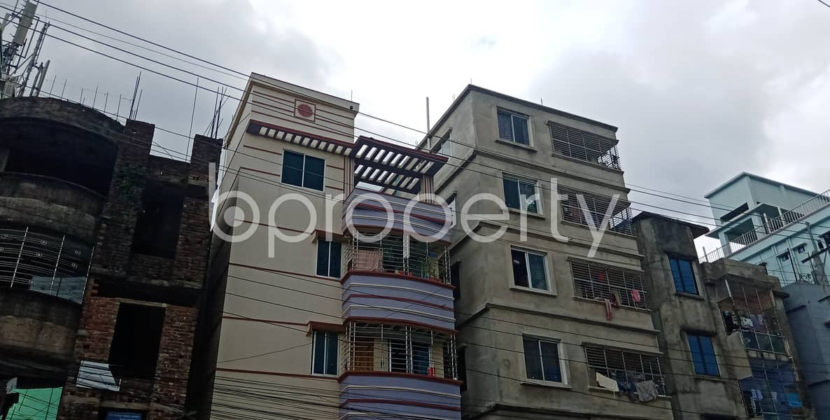 See This 1200 Sq Ft Apartment For Rent Is All Set For You In Halishahar Housing Estate