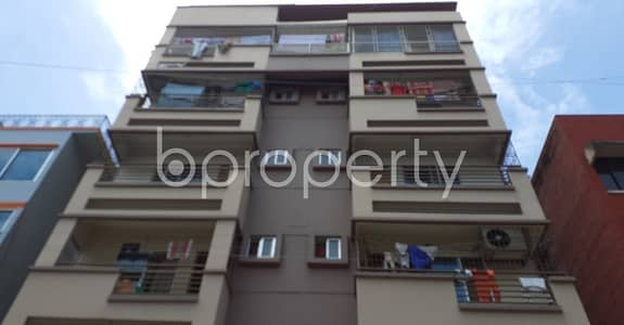 2 Bedroom Flat for Rent in Uttara, Dhaka - Well-featured 950 Sq Ft Residence Is Ready For Rent At Uttara Sector 5.