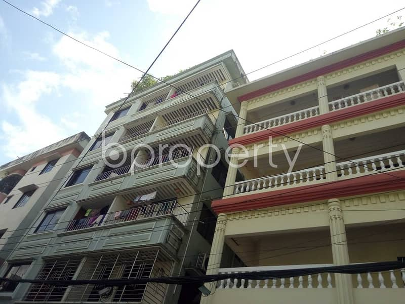 Properly designed this 700 SQ Ft apartment is now up for rent in Panchlaish
