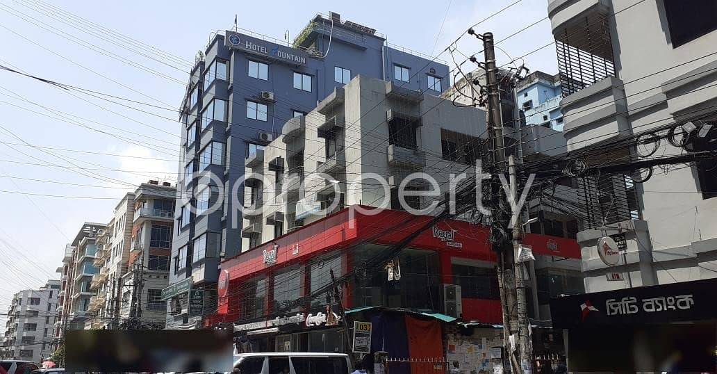 Look At This 1250 Square Feet Commercial Office For Rent At Nikunja 2.