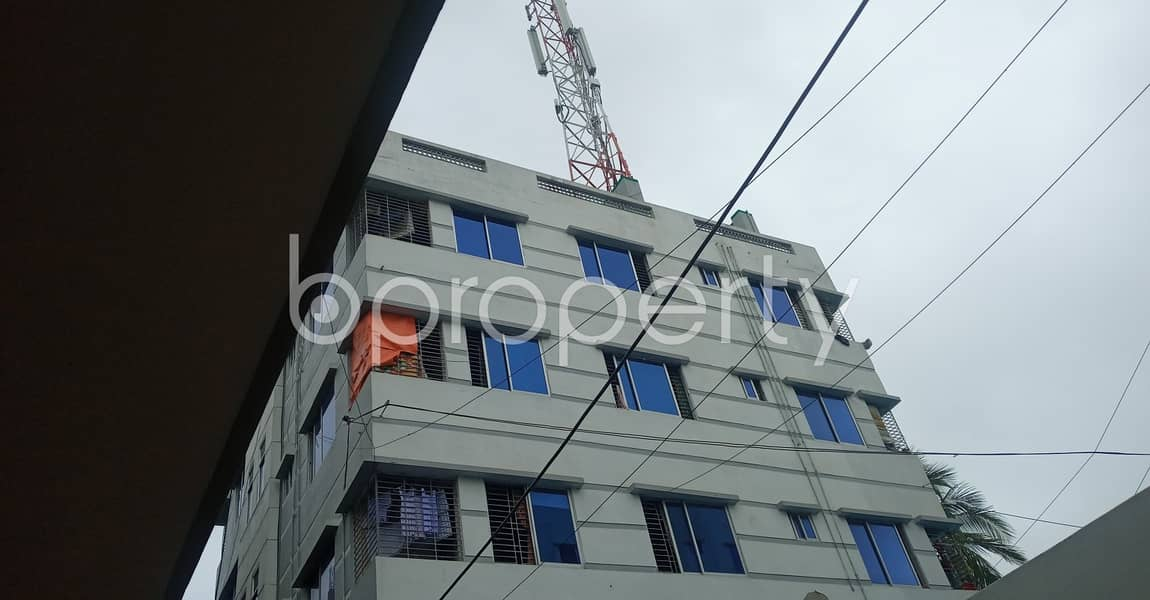 Choose your destination, 570 SQ FT apartment which is available to Rent in 40 No. North Patenga Ward