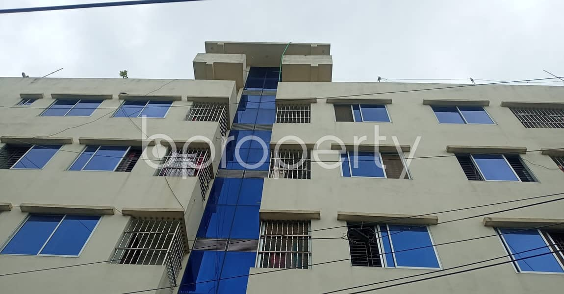 For rental purpose 570 Square feet well-constructed apartment is available in Patenga
