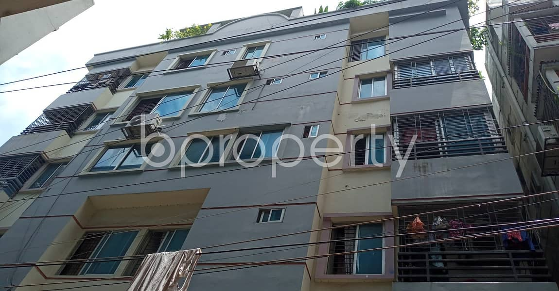 1200 Sq Ft Flat Is Up To Sale In Badda