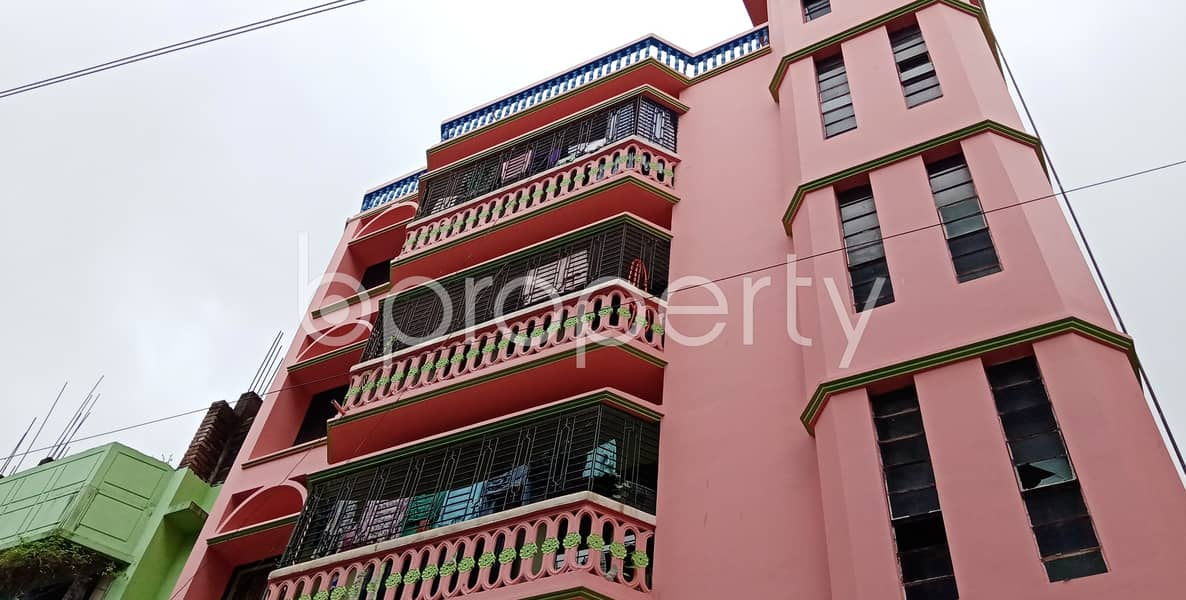 This 1200 Sq Ft Apartment Is Ready For Rent At Halishahar