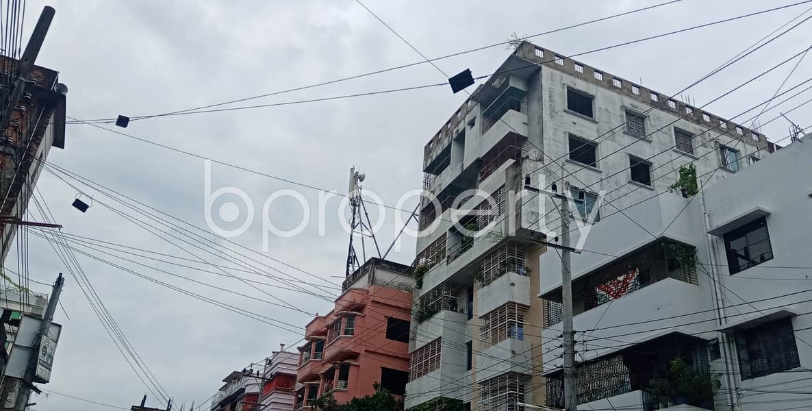 This Vacant Apartment Of 1200 Sq Ft Situated In Halishahar Housing Estate, Is Up For Rent