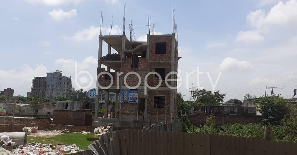 Near To Baitul Hadi Shahi Jame Mosjid At Kalunagar , A 500 Square Feet Residential Apartment For Sale