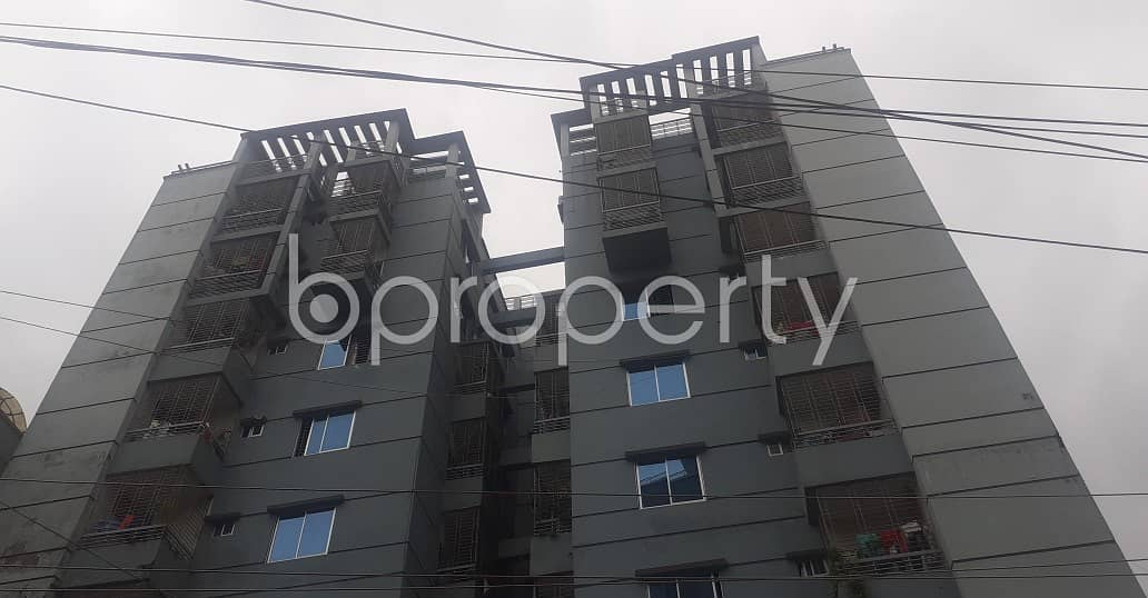 For Selling Purpose This Flat Is Now Vacant In Satarkul Road, Badda .