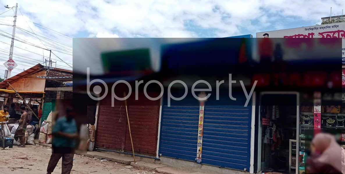This 100 Sq Ft Commercial Shop Is Ready For Rent At Halishahar