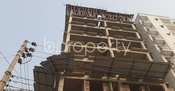 Properly Planned Flat In Mohammadpur Near Chandrima Central Masjid Is Up For Sale