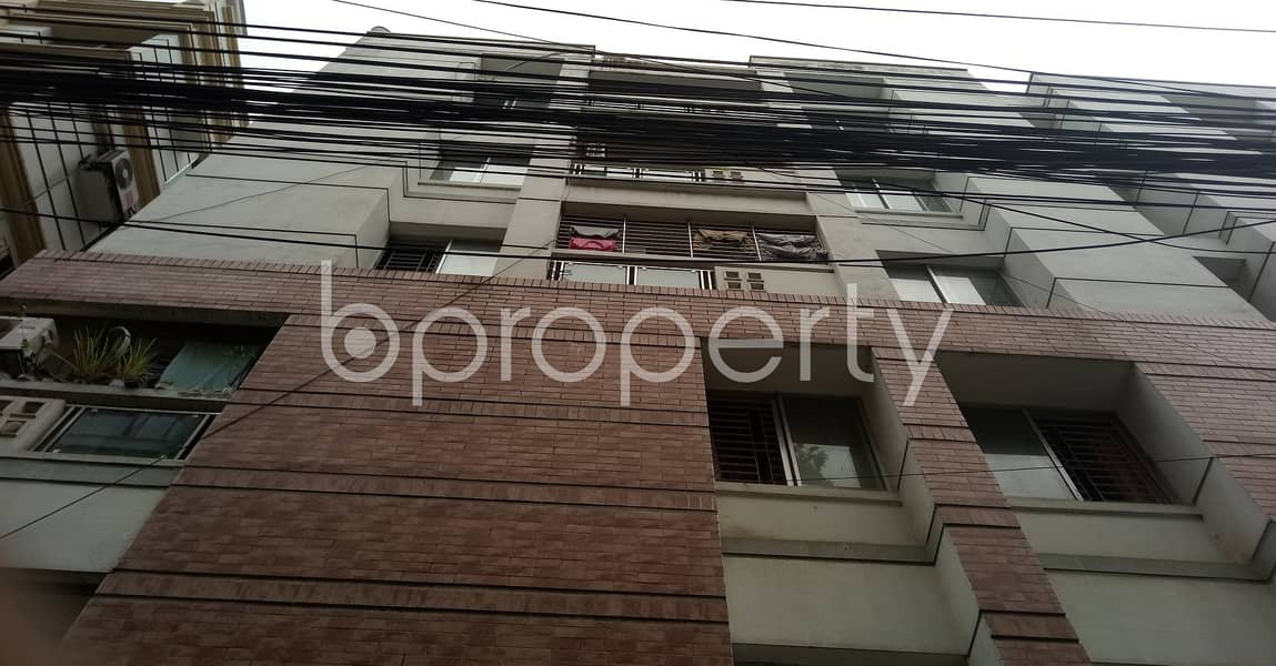 Built with modern amenities, check this flat for rent which is 1050 SQ FT in Mirpur