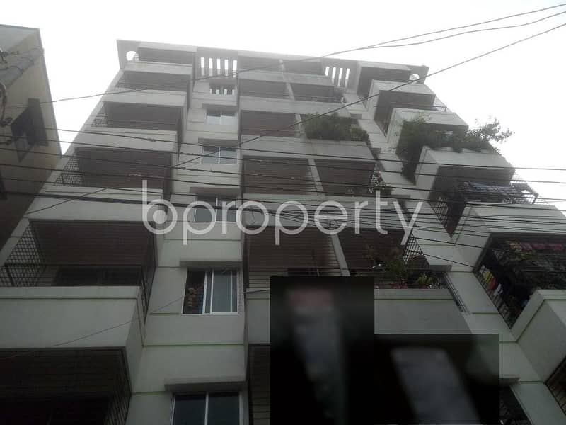 A 1150 Sq Feet Residential Flat For Sale At Badda Beside To Alatunnesa School