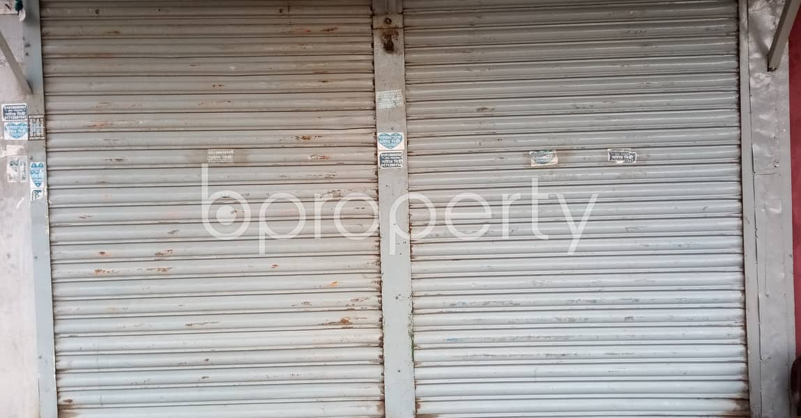 Looking For A Shop Space To Rent In Mirpur, Check This One Which Is 90 Sq Ft.
