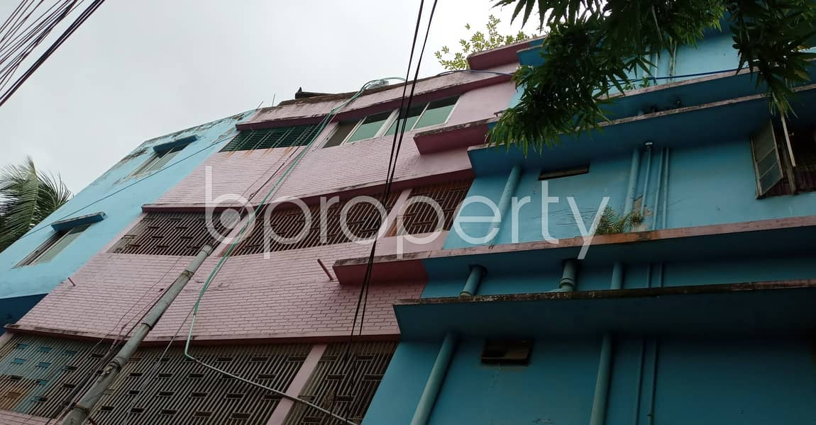 In This Serene Neighborhood Of Arakan Housing Society , A 1450 Sq. Ft Large Flat Is Up For Rent.