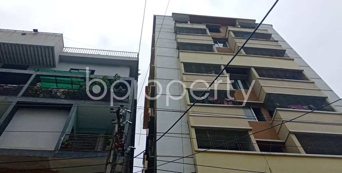 A worthwhile 1400 SQ FT residential flat is ready for rent at 26 No. North Halishahar Ward