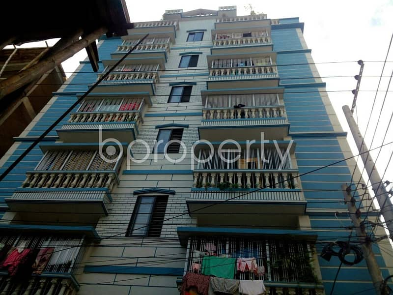 Consider moving into this apartment of 800 SQ FT in 4 No Chandgaon Ward for rent