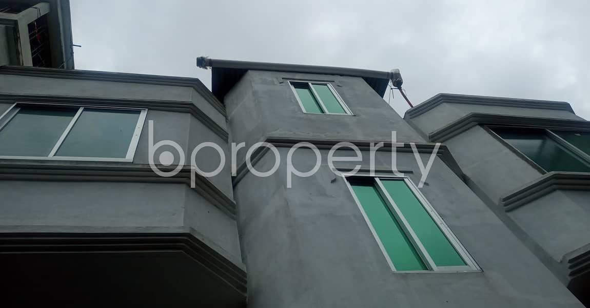 This reasonable 560 SQ FT residential home is ready for rent at Patenga