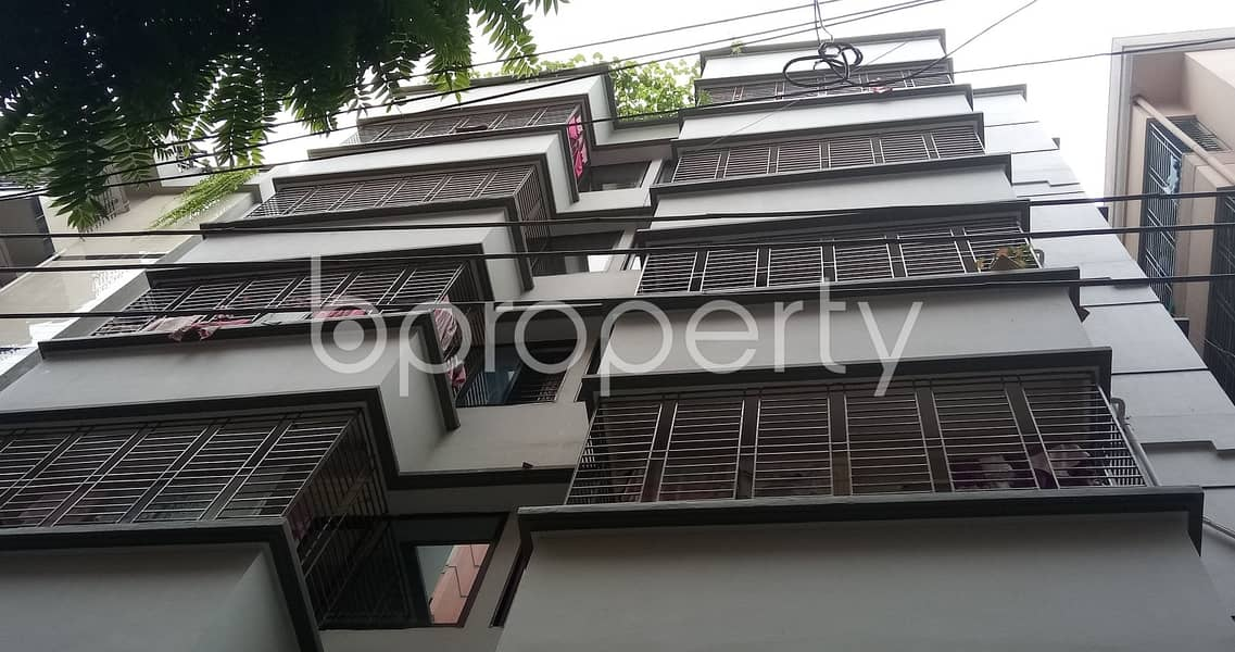 A 700 SQ FT very reasonable medium flat is available for rent at Mohammadpur