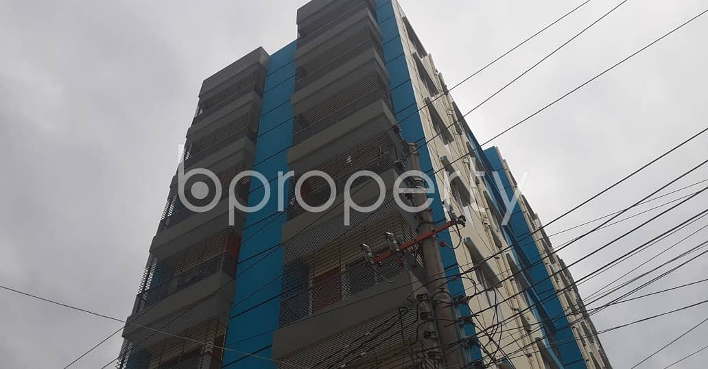 An affordable 700 SQ FT home is vacant for rent at Mazar Para