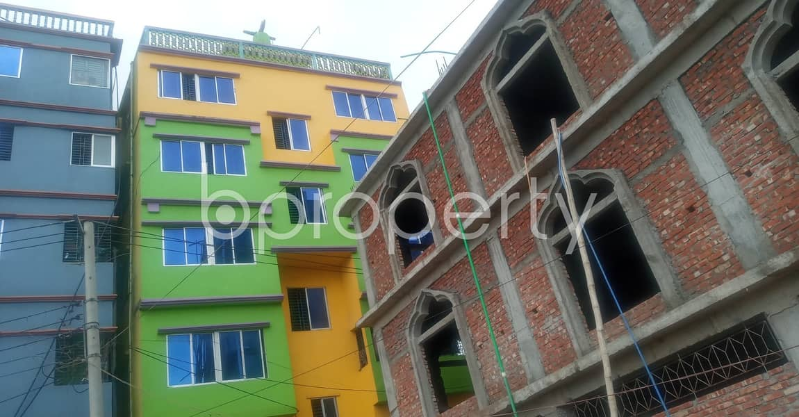 An affordable 400 SQ FT home is vacant for rent at Halishahar