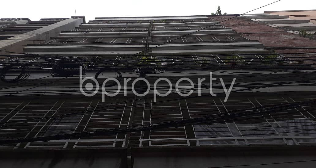 An affordable 600 SQ FT home is vacant for rent at Banasree
