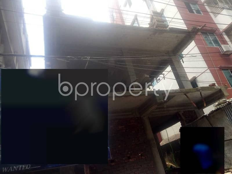1350 SQ FT flat is now for sale which is in Rampura