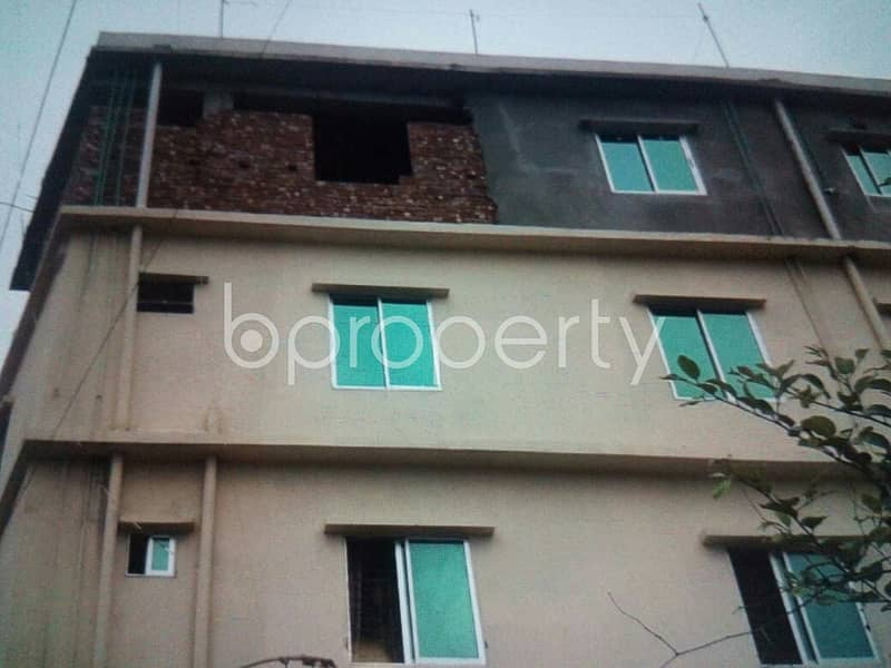 A well-constructed 1065 SQ FT apartment is ready to Rent in Nimtala
