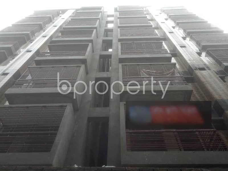 Grab This 1250 Square Feet Residential Flat For Sale In Badda