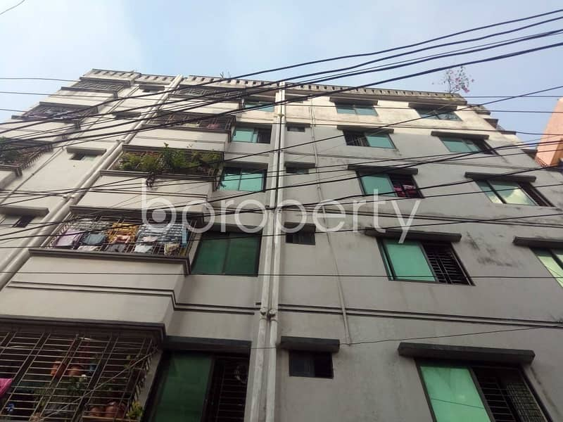 In Badda, A Flat Is Available For Rent In Near Baithakali