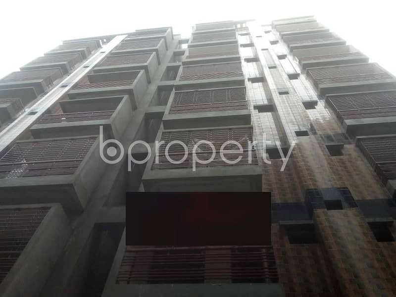 We Have A 1250 Sq. Ft Flat For You In The Location Of Middle Badda.
