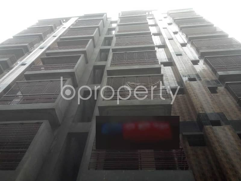 Reside Conveniently In This Comfortable 1250 Sq. Ft Flat For Sale At Middle Badda.