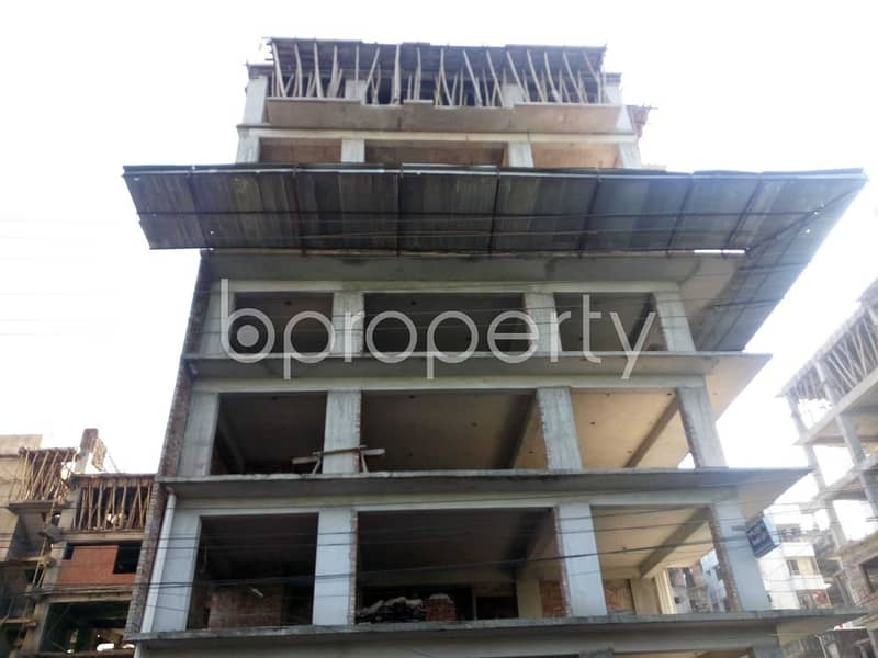 A Commercial Office Space For Sale Located In Banasree Near To Faizur Rahman Ideal Institute .