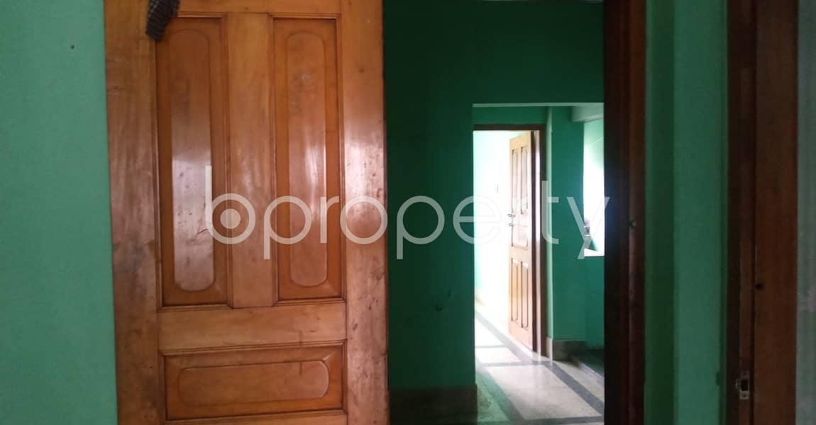 This 700 Square Feet Medium Size Residential Apartment For Rent At 40 No. North Patenga Ward